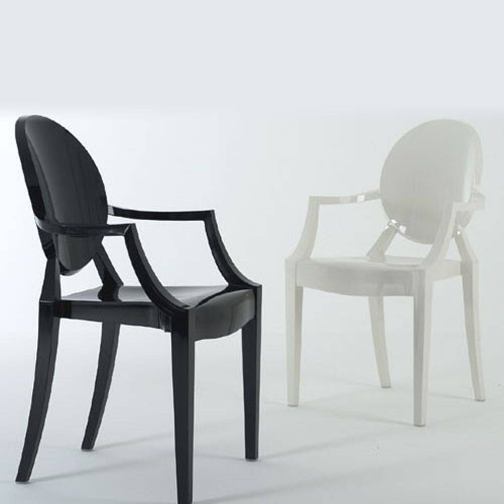 mobilier chaises louis ghost arrivetz. Black Bedroom Furniture Sets. Home Design Ideas